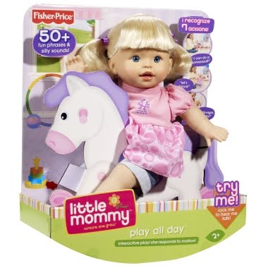 Mattel's Little Mommy Play All Day Baby | Review | But I want a pony!!