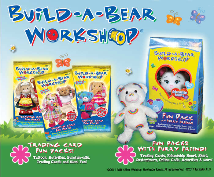 Build a bear fun packs make great easter basket stuffers but i fun packs are only 599 making them perfectly priced for party gifts or filling an easter basket these packs are available at target walmart negle Choice Image