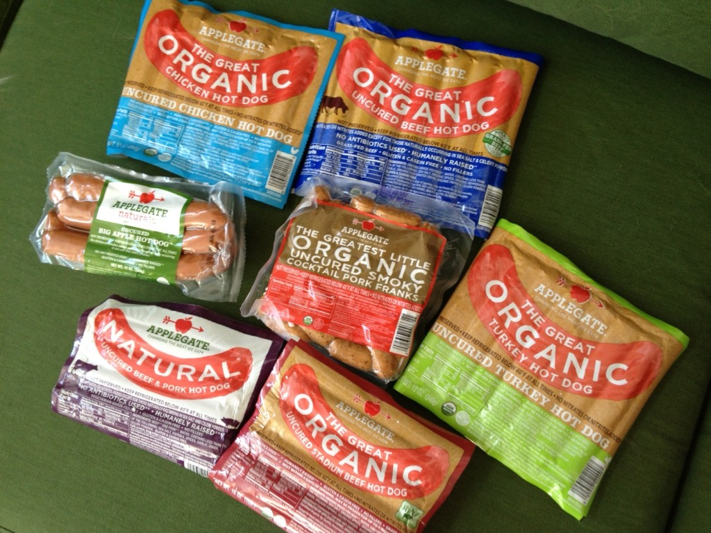 Applegate Organic Hot Dogs Beef