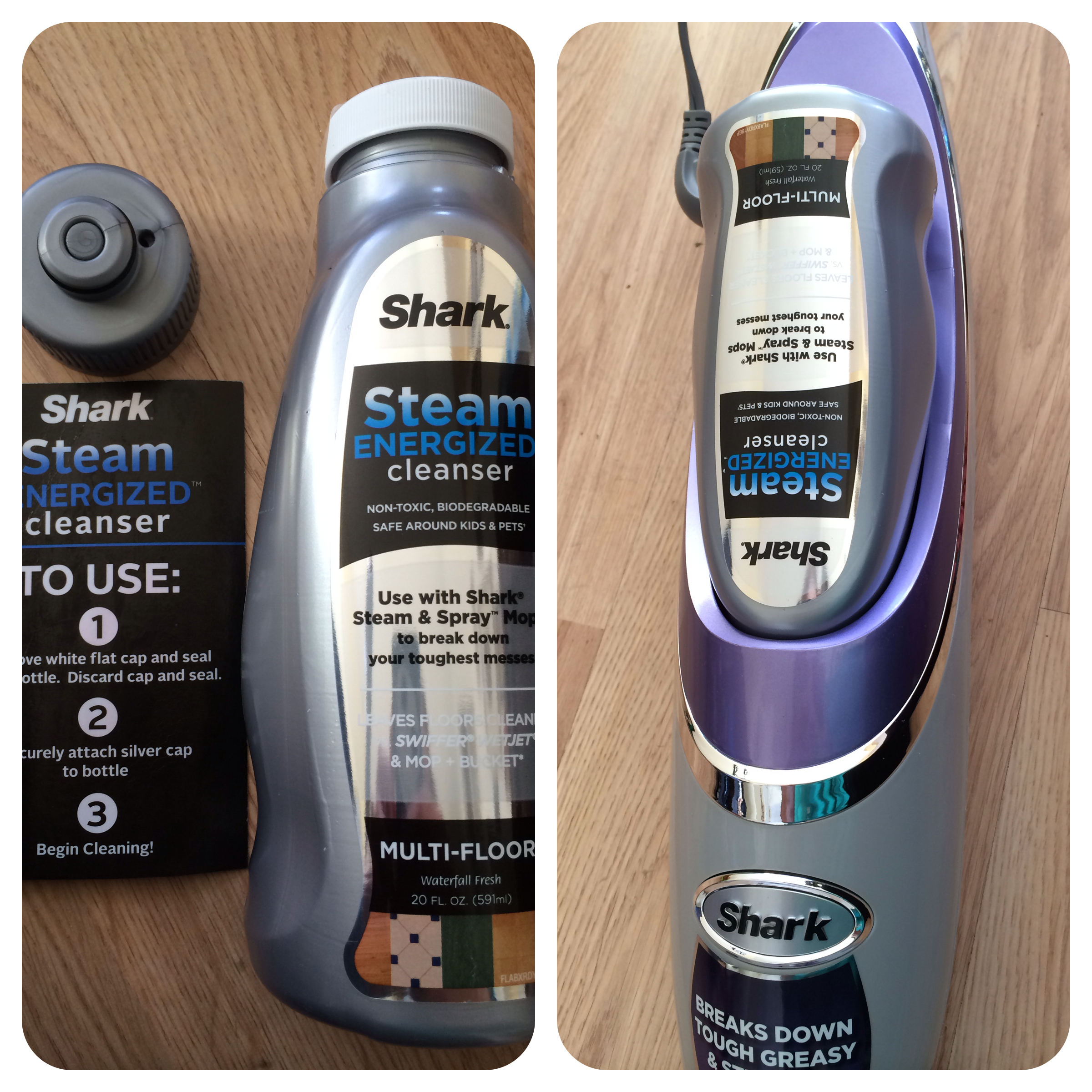 shark steam and spray mop | but i want a pony!!