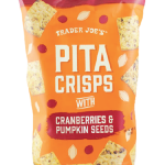 trader joe's pita crisps cranberries pumpkin seeds