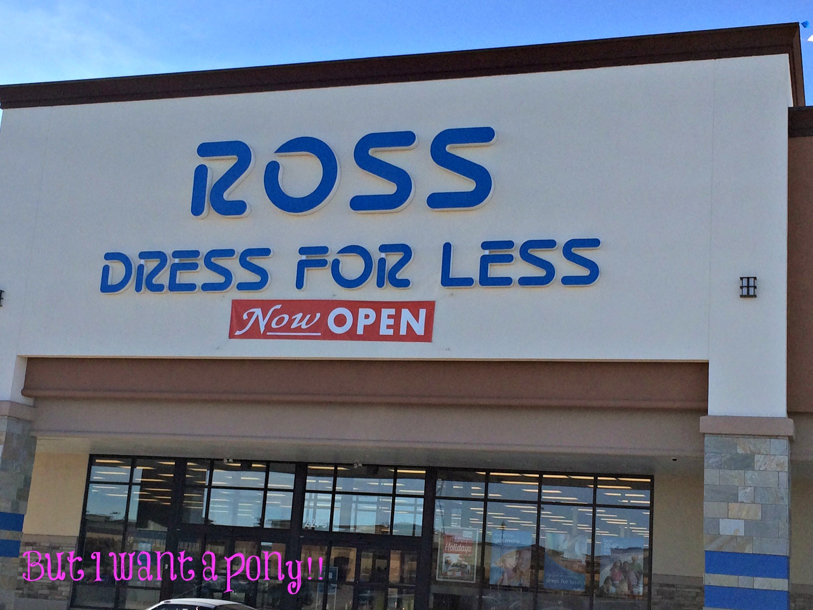 Ross Dress Less