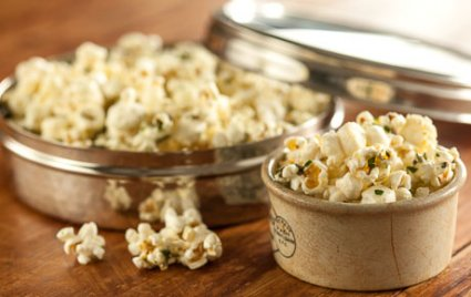 blue cheese herb popcorn